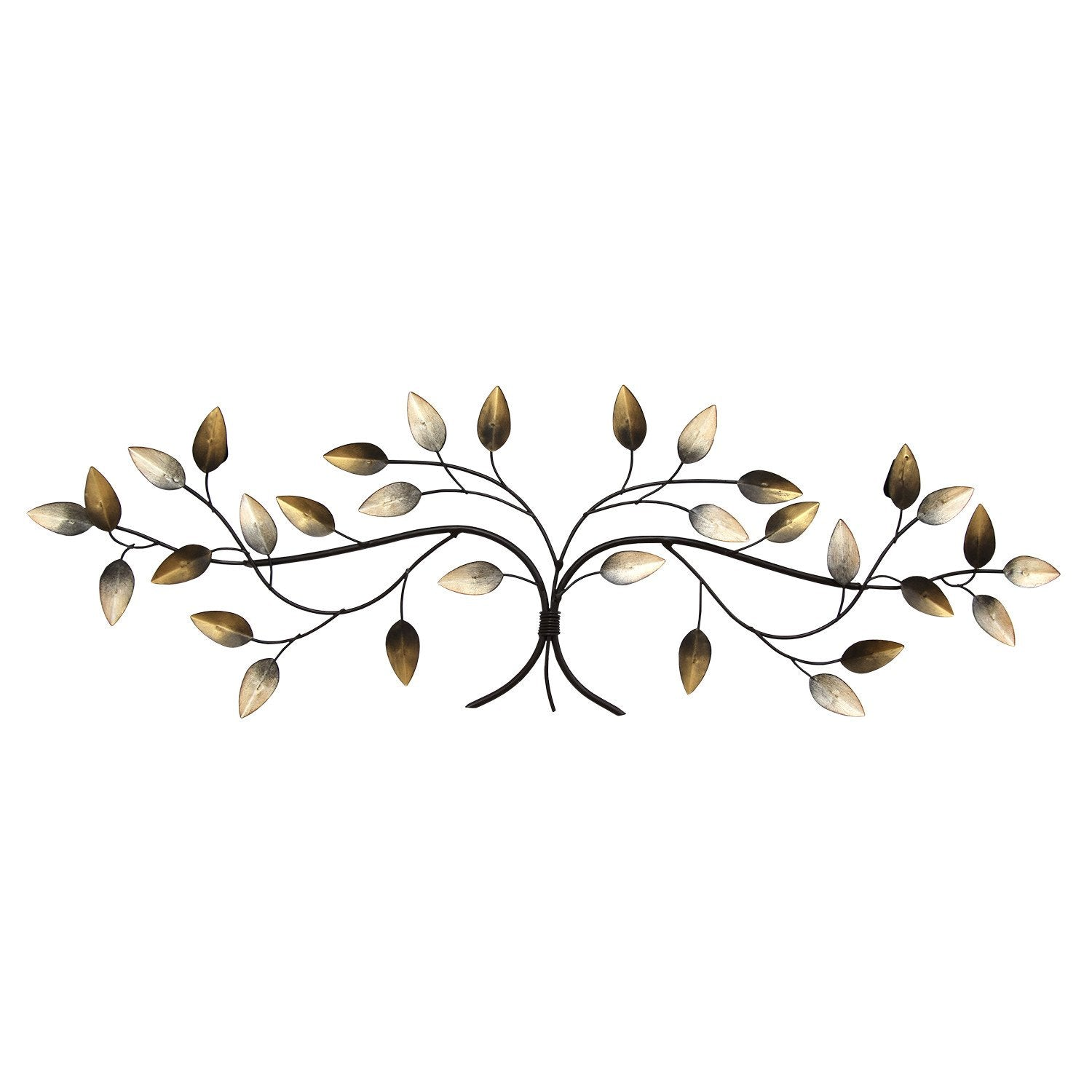 "31.89"" X 1.18"" X 10.63"" Over The Door Blowing Leaves Wall Decor"