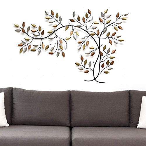 "39.96"" X 0.5"" X 26.97"" Bronze Tree Branch Wall Decor"