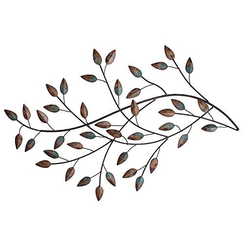 Multi-color Blowing Leaves Wall Decor