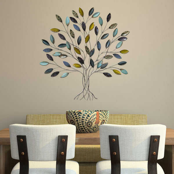 Multi-color Whimsical Tree Wall Decor