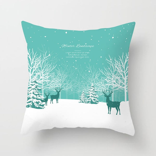 Winter Pillow Covers