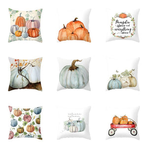 Fall Painted Pillow Cover