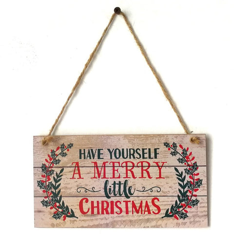 Have Yourself a Merry Little Christmas Wall Decor