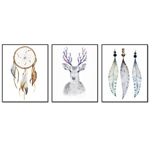 Dreamcatcher Wall Art (set of 3)