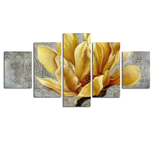 Flower 5-Panel Wall Art Print
