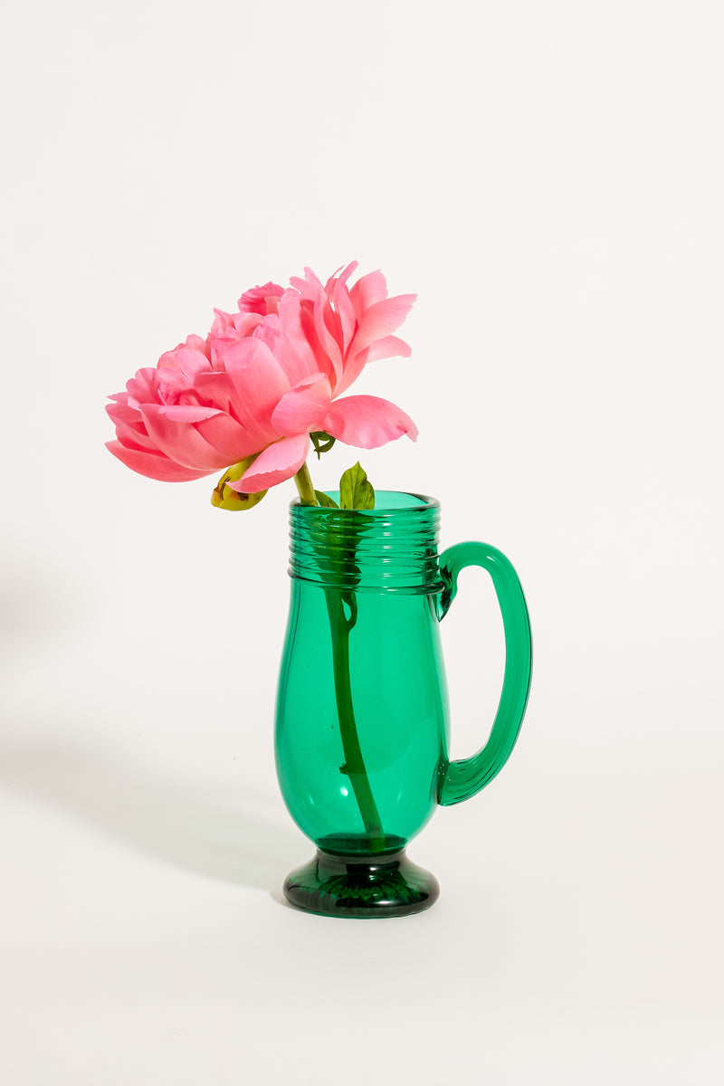 Emerald Pitcher Vase