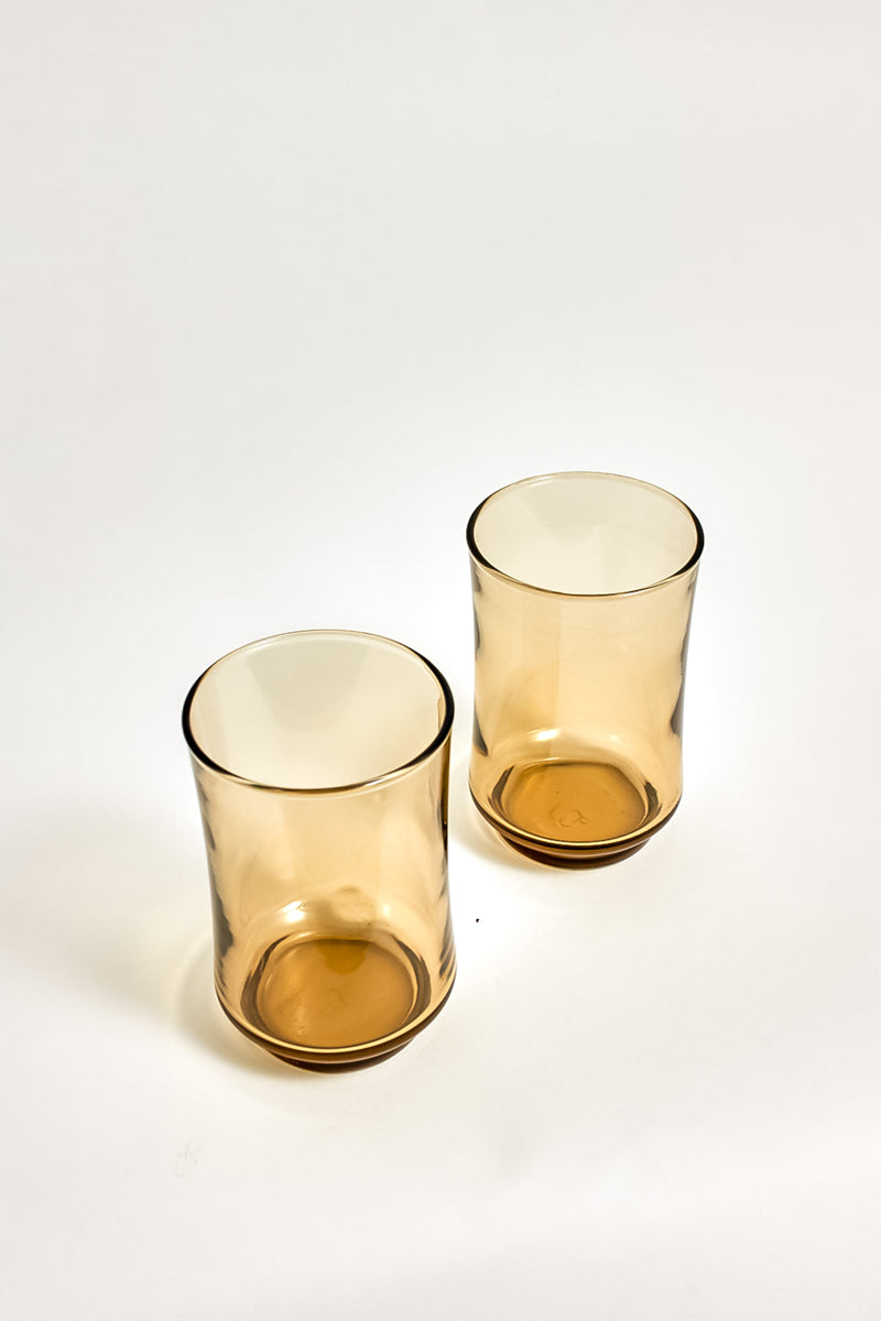 Smoky Brown Tumblers