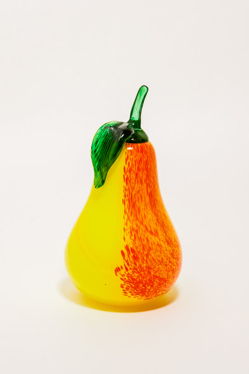 Blown Glass Pear