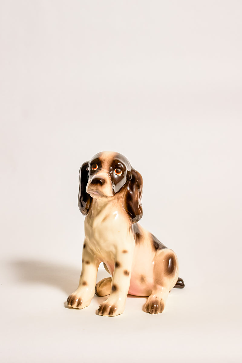 Hand Painted Ceramic Cocker Spaniel