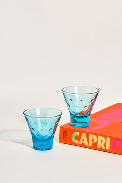 Capri Blue Tumblers Set of Two