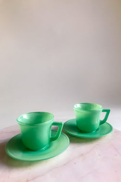 Spearmint Green Demitasse Set