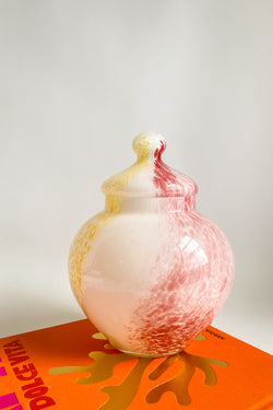Large Murano Glass Jar