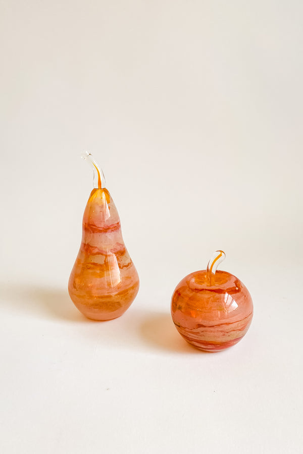Art Glass Apple