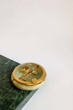 Italian Onyx Ashtray