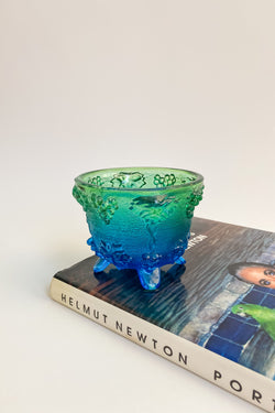 Small Pressed Glass Bowl
