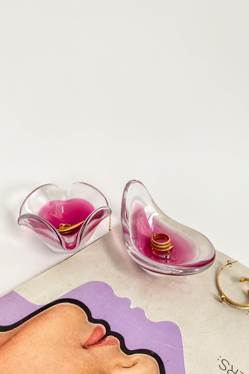 Swedish Artist Glass Catchall
