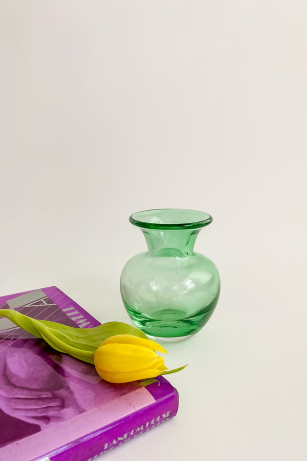 Small Emerald Bud Vase