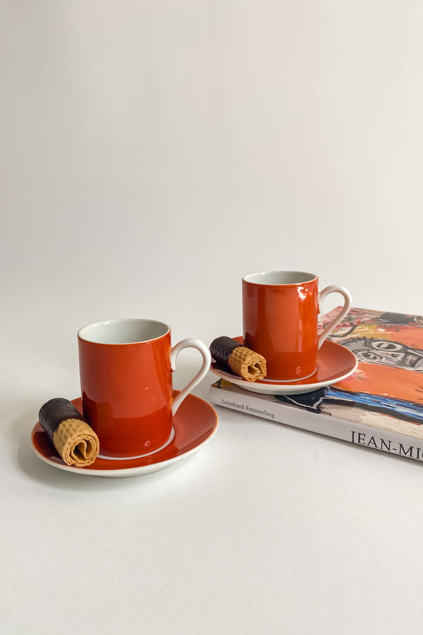 Terracotta Demitasse Set