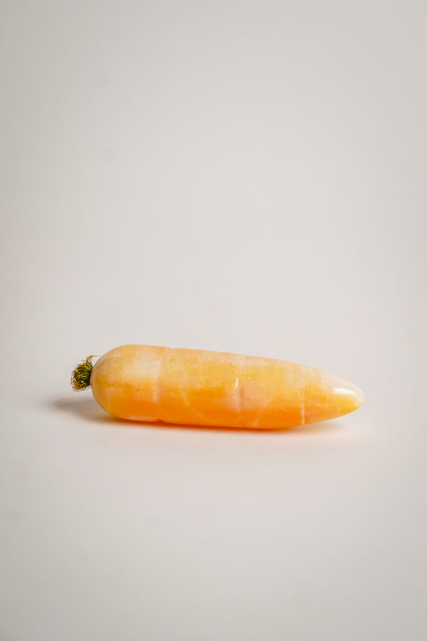 Alabaster Carved Carrot