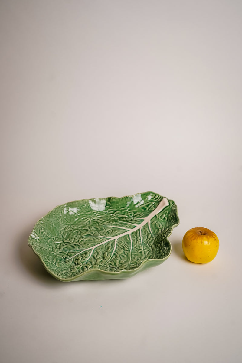 Cabbage Earthenware Platter