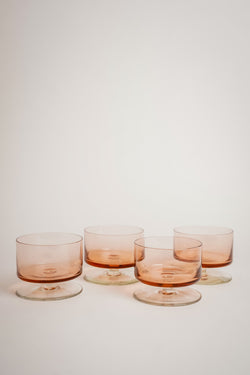 Rose Glass Bowls