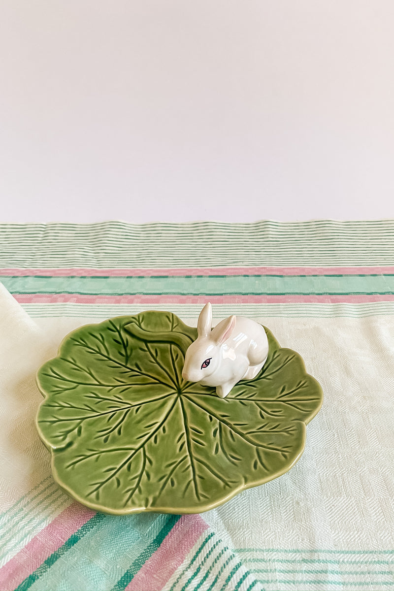 Cabbage Bunny Serving Dish