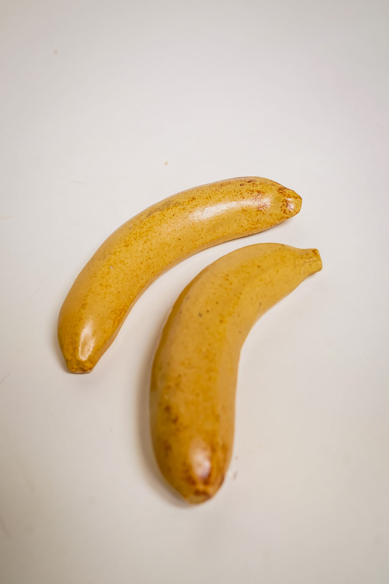 Pair of Ceramic Bananas