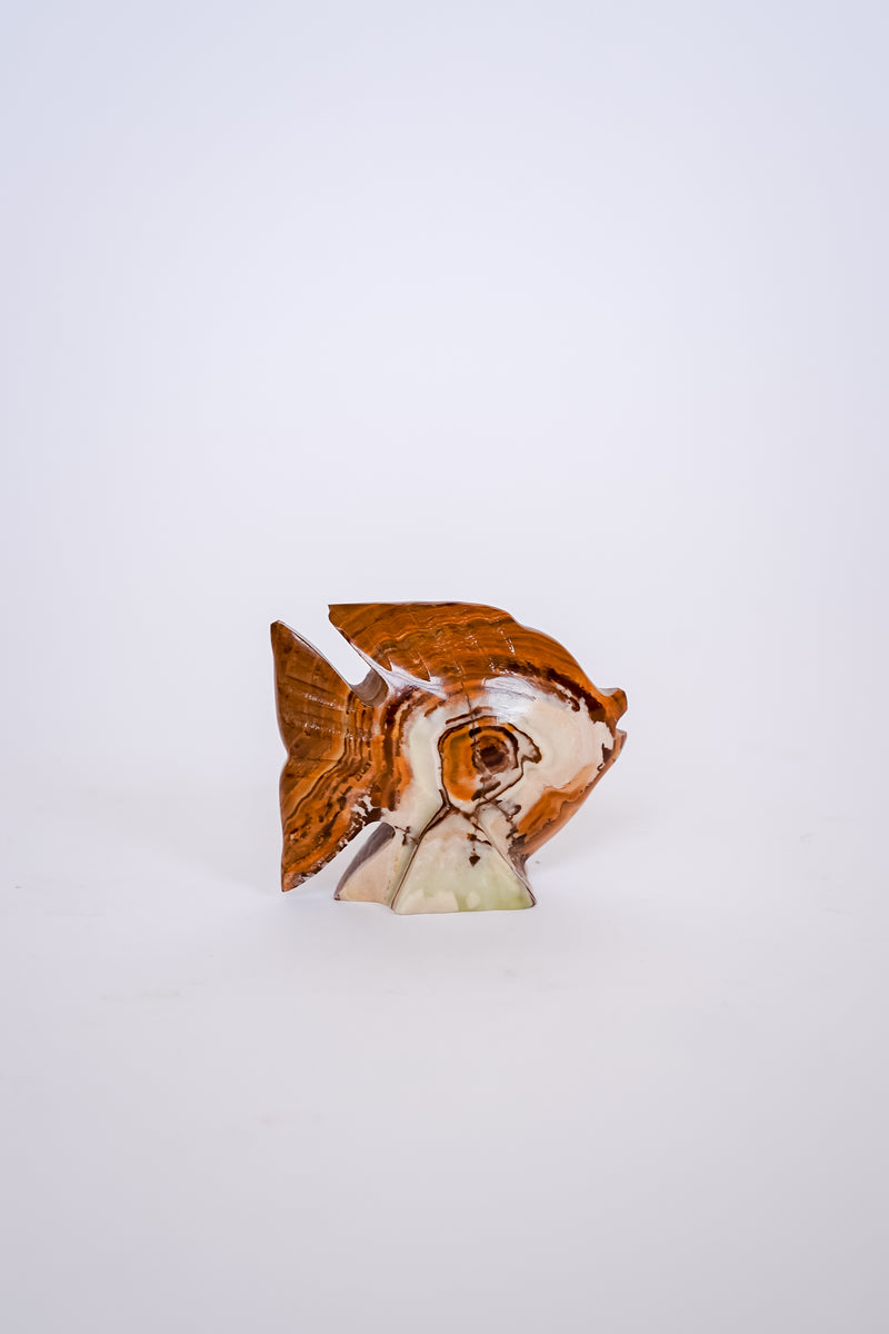 Carved Marble Fish