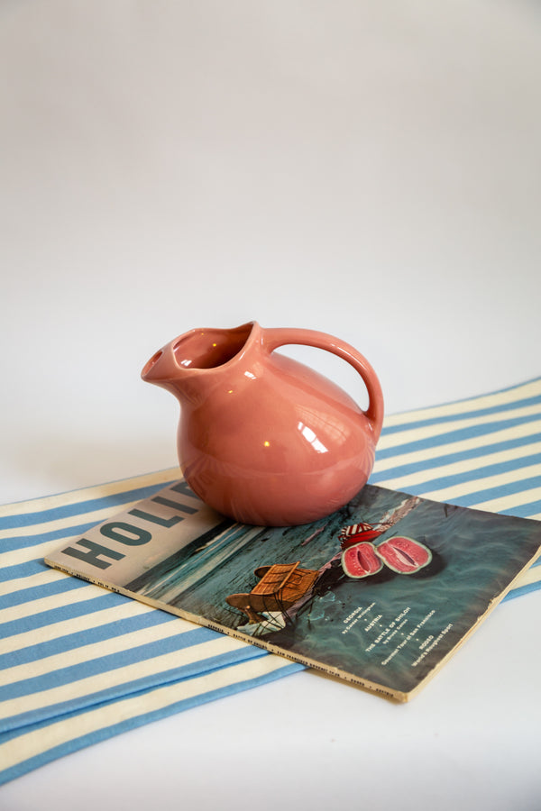 Rose Ceramic Pitcher