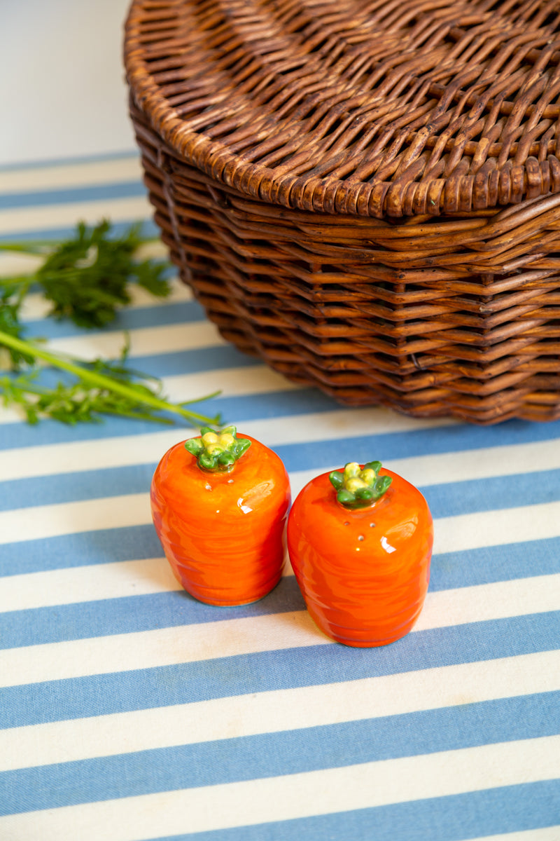 Carrot Salt & Pepper Shakers