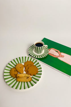 Leaf Green Expresso Set