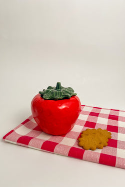 Small Strawberry Cookie Jar