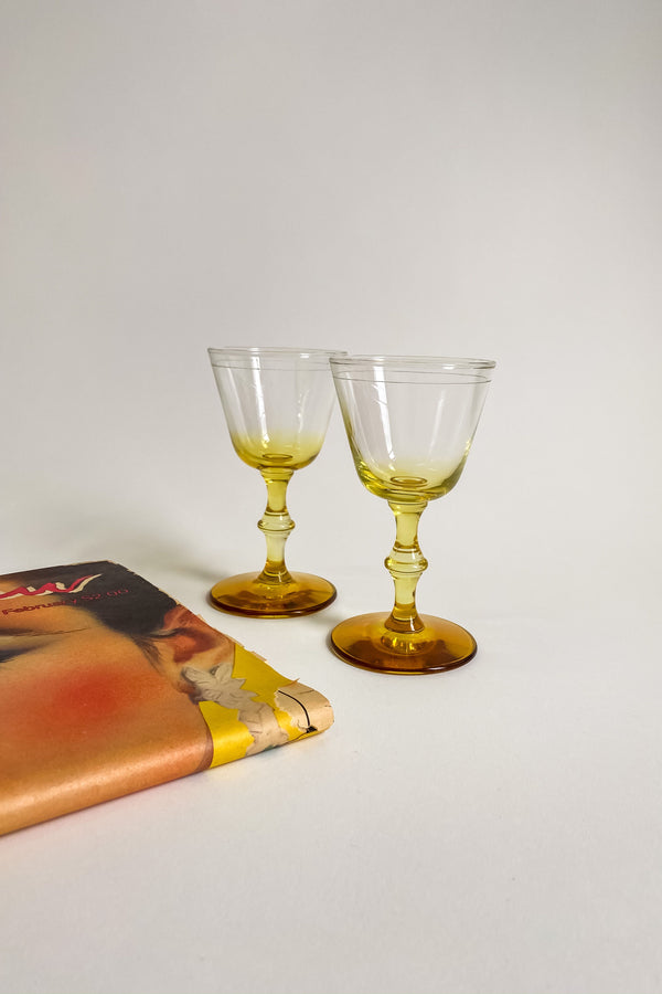Marigold Cocktail Glasses