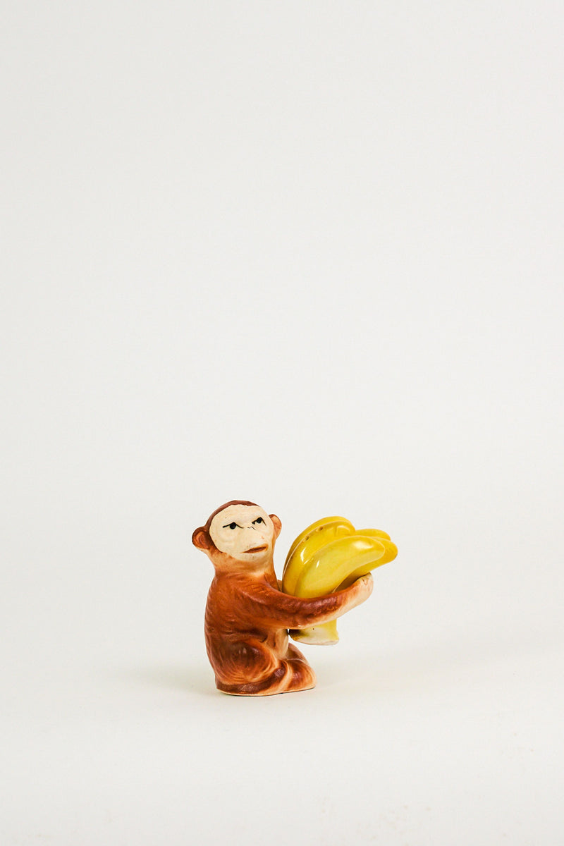 Monkey and Bananas Salt and Pepper Set