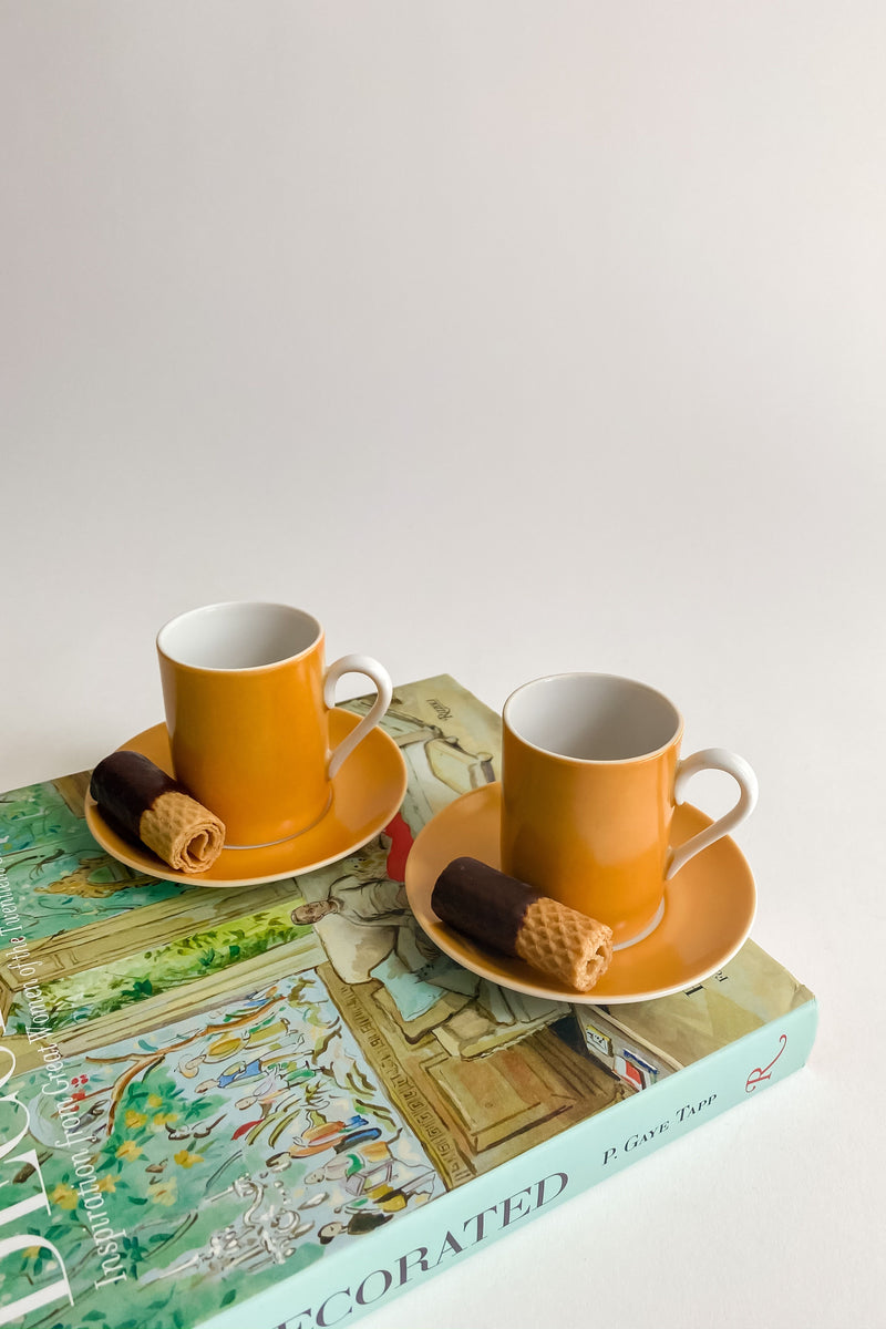Marigold Demitasse Set