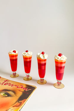 Ball Stem Parfait Glasses
