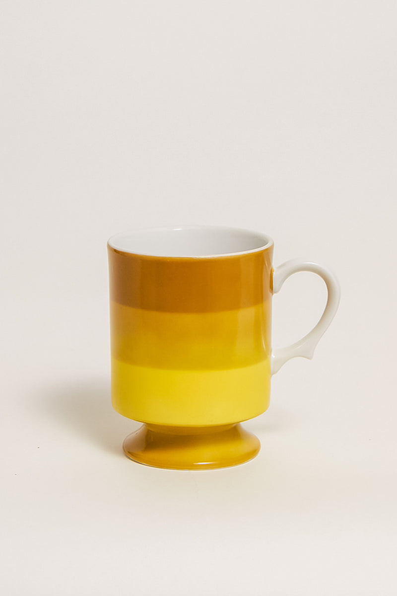 Japanese Ombré Striped Mugs