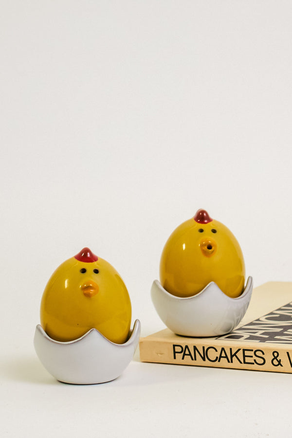 Chicken and Egg Salt and Pepper Set
