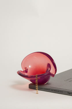 Pink/Violet Clamshell Bowl