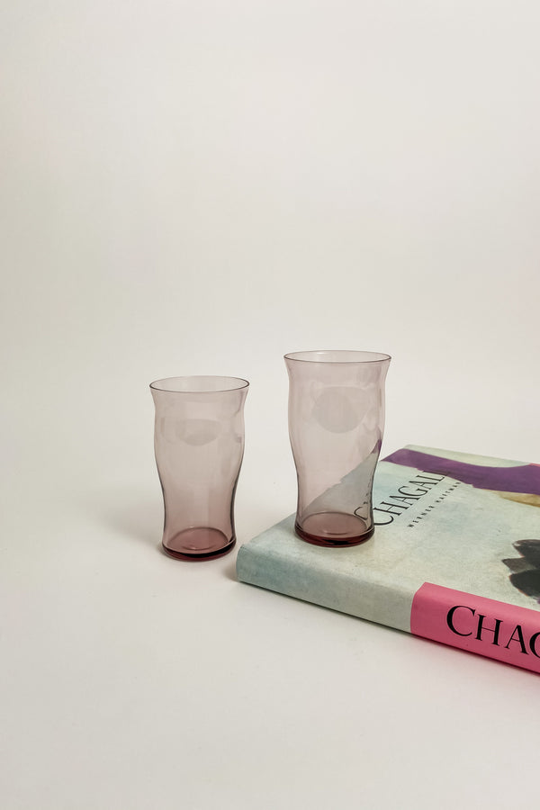 Wavy Lilac Tumblers