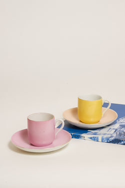 Pastel Demitasse Set