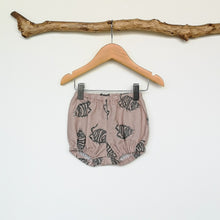 Load image into Gallery viewer, Woodlouse Print Linen Baby & Toddler Bloomers