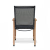 Manhattan Carver Black Armchair - 4 Piece