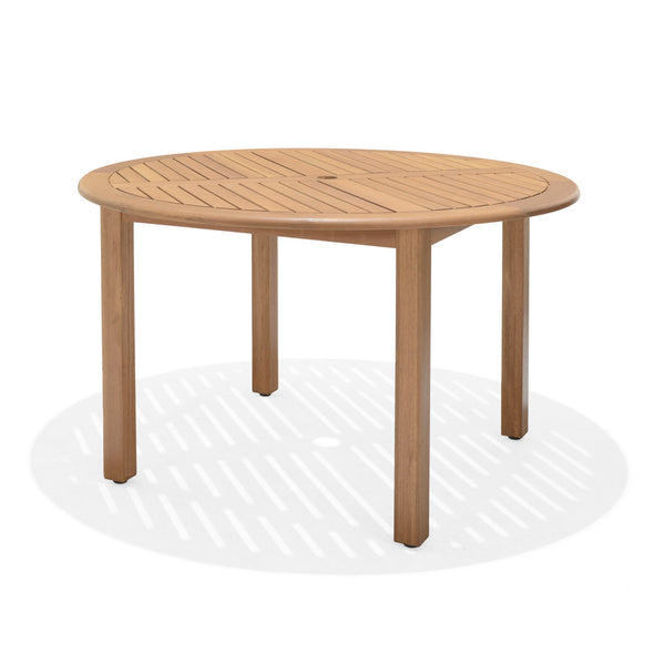Oldbury Round Table - Teak Finish