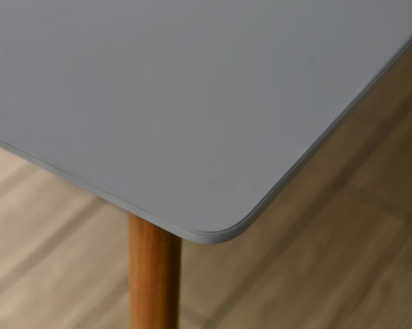 Aalborg Gray Rectangular Wood Table