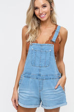 Load image into Gallery viewer, DENIM ALLOVER SHORTS