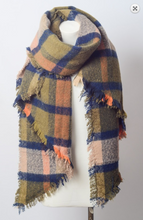 Load image into Gallery viewer, Asymmetrical Trim Scarf