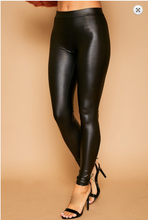 Load image into Gallery viewer, Glossy Leather Leggings