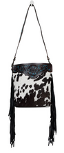 Load image into Gallery viewer, BLACK PANTHER HAND-TOOLED BAG