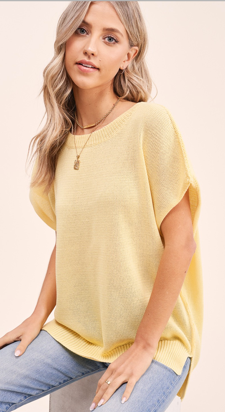 Brunello Sweater-Lemon